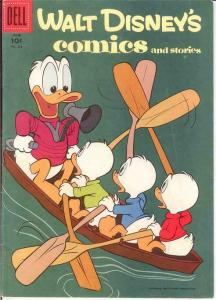WALT DISNEYS COMICS & STORIES 213 F-VF  June 1958 COMICS BOOK