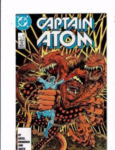 Lot of 5 Captain Atom DC Comic Books #6 7 8 9 10 LH15