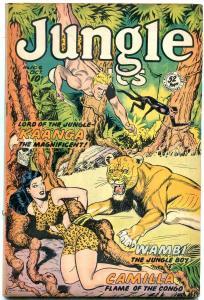 JUNGLE COMICS #106 1948-HIGH GRADE-GOOD GIRL -FICTION HOUSE VF