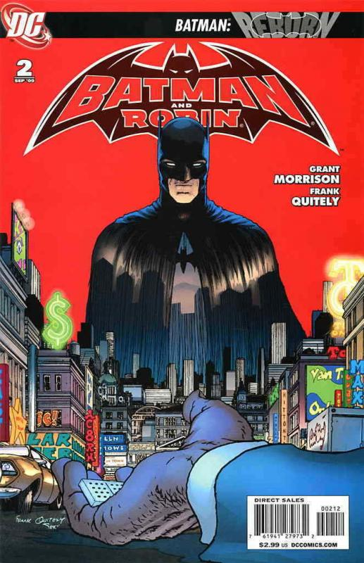 Batman and Robin #2 (2nd) VF; DC | save on shipping - details inside