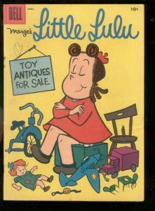 MARGE'S LITTLE LULU #106 1957-JOHN STANLEY ART-DELL COM VG/FN