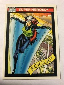ROGUE #41 card : 1990 Marvel Universe Series 1, NM/M, X-Men