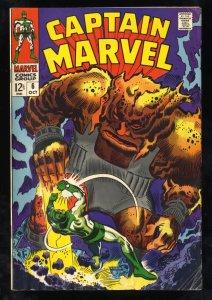 Captain Marvel (1968) #6 VG 4.0 Silver Age! Comic