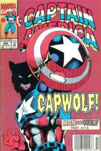 Captain America (1968 series) #405, NM (Stock photo)