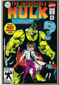 HULK #393, NM+, Incredible, Foil cover, 30th Anniversary, more Hulk in store