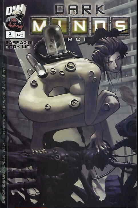 Darkminds: Macropolis (Vol. 2) #3 VF/NM; Dreamwave | save on shipping - details