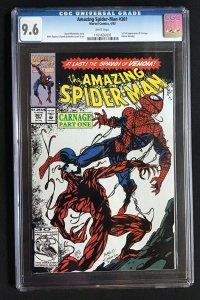 The Amazing Spider-Man #361 (1992) CGC Graded 9.6