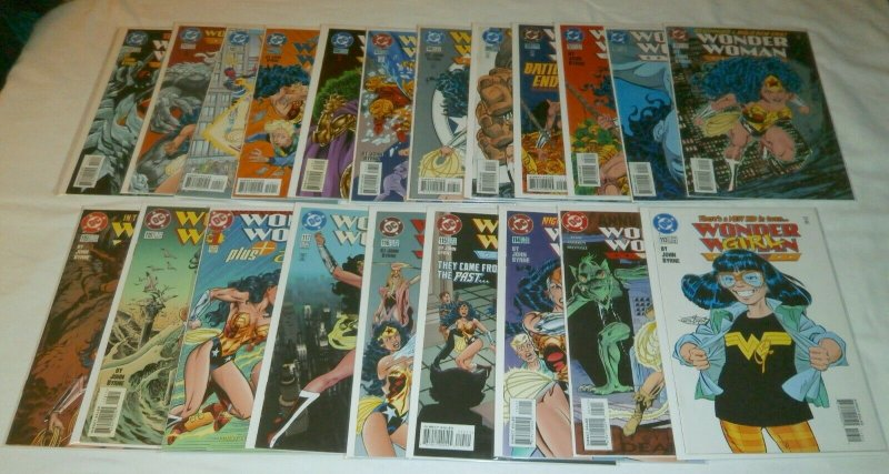 Wonder Woman V2 #101-136, Annuals, Plus, Files, Byrne run 100% complete set