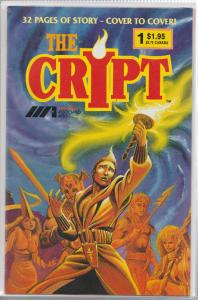 THE CRYPT #1 - AAAARGH! ASSOCIATED ARTISTS - 1987
