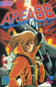 Area 88 #29 VF/NM; Eclipse   save on shipping - details inside