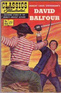Classics Illustrated #94 (Apr-52) VG Affordable-Grade