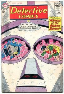 Detective Comics #324 1964- Batman- Martian Manhunter- Robot Brain VG