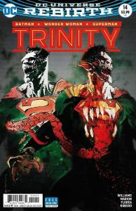 Trinity #14 Variant Cvr / Batman / Superman / Wonder Woman (DC, 2017) NM