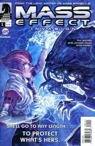 Mass Effect: Invasion #1 VF; Dark Horse | save on shipping - details inside
