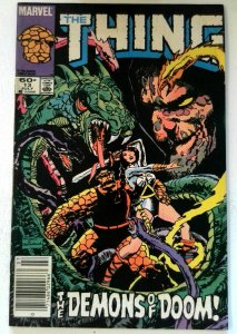 Thing #13 Marvel 1984 FN Copper Age 1st Printing Comic Book