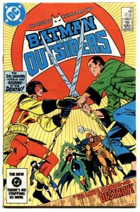 BATMAN AND THE OUTSIDERS #12 ORIGIN OF KATANA-Suicide Squad movie-1984