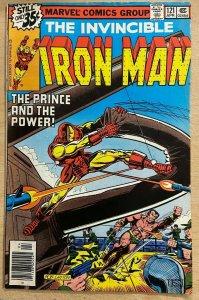 IRON MAN #121 (Marvel, 4/1979) FINE (F) Michelinie, Roxxon, Sub-Mariner, JRJr