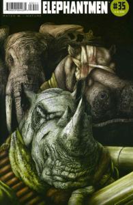 Elephantmen #35 VF/NM; Image | save on shipping - details inside
