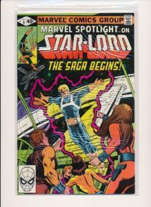 MARVEL STAR-LORD THE SAGA BEGINS #6  FINE/VERY FINE (HX704)