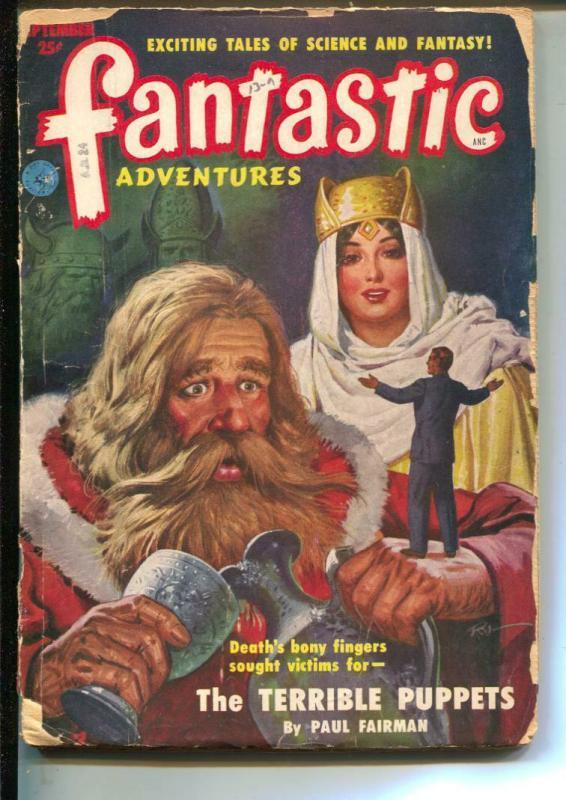 Fantastic Adventures-Pulp-9/1951-Paul W. Fairman-William P. McGivern