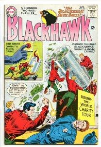 BLACKHAWK #207 1965-DC-DEVIL DOLLS-CRIME STORIES-vf+