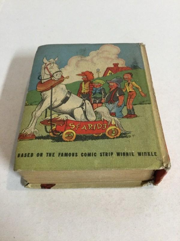 Perry Winkle And The Rinkeydinks Get A Horse Fn Fine 6.0 Big Little Books 1487