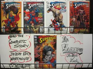 SUPERMAN #654-658 (DC,2007)Kurt Busiek! Carlos Pacheco! The Day the Earth Died
