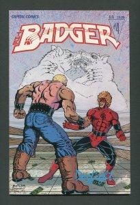 Badger #4 / 7.5 VFN-  April 1984