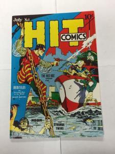 Special Edition Reprints Flashback Comics 31 Hit Comics 1 9.4 Nm Near Mint