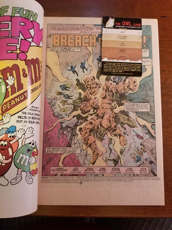 Legends 2 1986 DC VF/NM