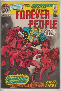 Forever People #3 (Jul-71) NM- High-Grade Big Bear, Beautiful Dreamer, Serifi...