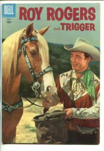 ROY ROGERS #102-1956- PHOTO COVER-KING OF THE COWBOYS--vg