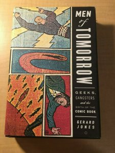 Men of Tomorrow: Geeks, Gangsters And Birth of Comics Book HARDCOVER MFT2