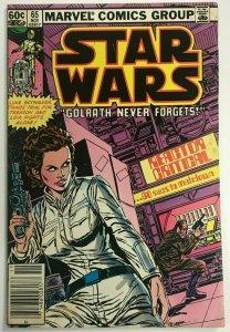 STAR WARS#65 FN/VF 1982 NEWSTAND EDITION MARVEL BRONZE AGE COMICS