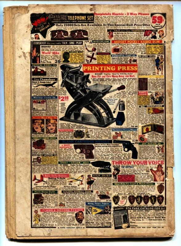Wonderworld Comics #3 1939- 1st appearance of the FLAME-Fox Golden-Age