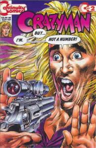 Crazyman (2nd Series) #2 VF/NM; Continuity | save on shipping - details inside