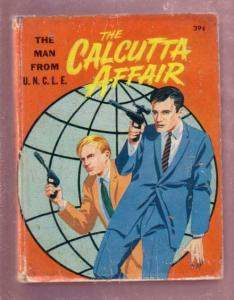 THE MAN FROM U.N.C.L.E, CALCUTTA AFFAIR, 1967 #2011 BLB VG