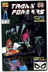 TRANSFORMERS #65-1990-later issue-htf-marvel