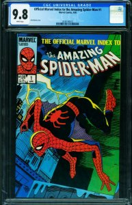 Official Index to the Amazing Spider-Man #1 CGC 9.8 Amazing Fantasy #15 20381400