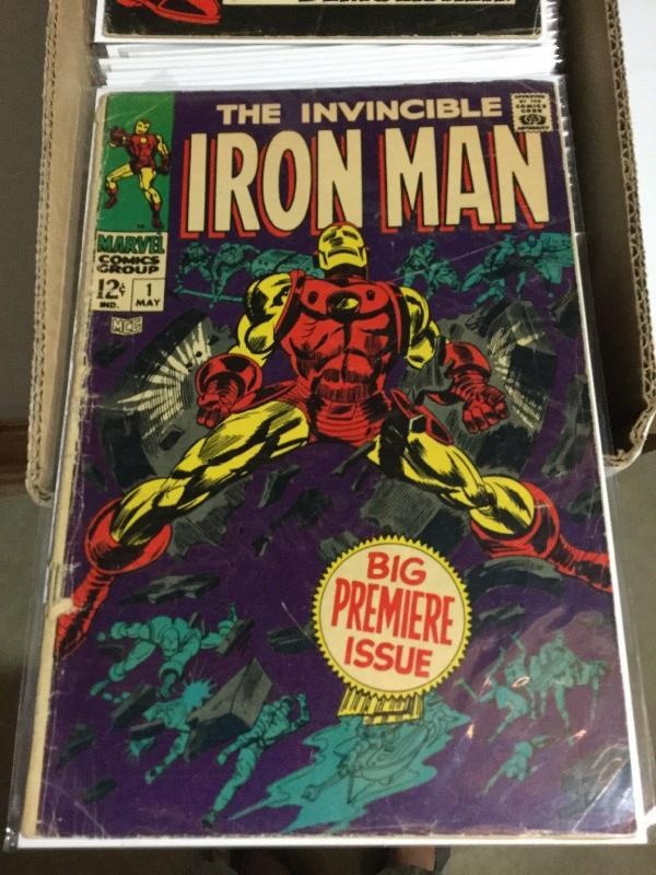 Iron Man 1-332 (not Complete) Grades Vary Great Starter Set