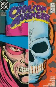 Crimson Avenger #4 VF/NM; DC   save on shipping - details inside