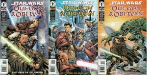 STAR WARS QUI-GON & OBI-WAN 1-3 line  cover Last Stand