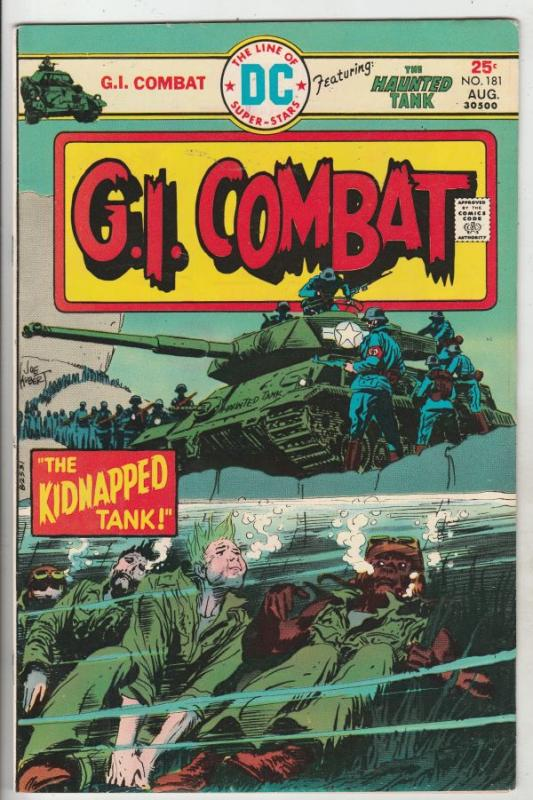 G.I. Combat #181 (Aug-75) VF/NM High-Grade The Haunted Tank