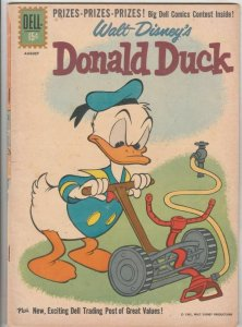 Donald Duck # 78 Strict FN/VF Appearance Uncle Scrooge McDuck Wow