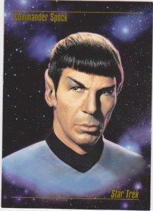 1993 Skybox Star Trek Master Series #2 Commander Spock