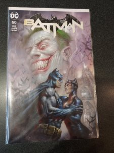 Batman #50 Lucio Parrillo Trade Dress Color Variant Catwoman Joker Wedding Issue