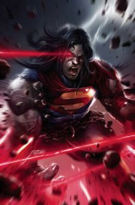 DARK NIGHTS DEATH METAL #1 (OF 6) FRANCESCO MATTINA SUPERMAN VARIANT ED