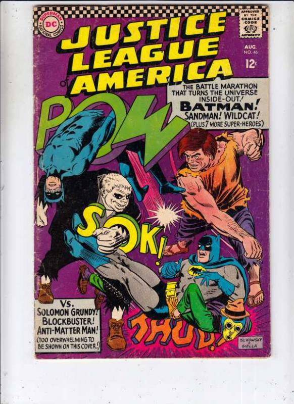 Justice League of America #46 (Aug-66) FN Mid-Grade Justice League of America...