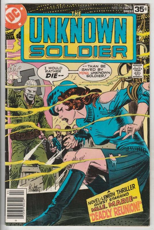 Unknown Soldier, The #214 (Apr-78) VF/NM High-Grade Unknown Soldier
