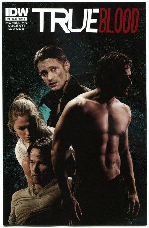 TRUE BLOOD #4, NM, 2012, Vampire, Eric, Sookie, Bill, more Horror in store